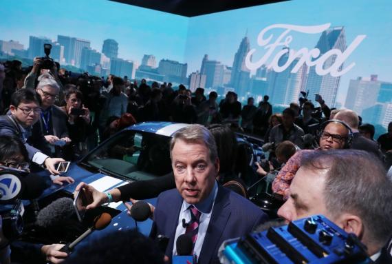 El presidente ejecutivo de Ford, Bill Ford, en una imagen de archivo tomada en Detroit, Michigan.