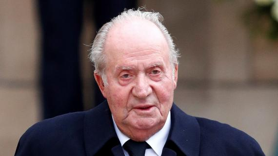 El rey Juan Carlos, en el funeral del Gran Duque de Luxemburgo.