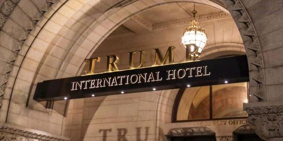 The Trump International Hotel in Washington, DC.