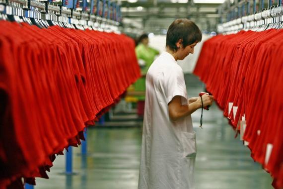 Zara Interior trabajadora