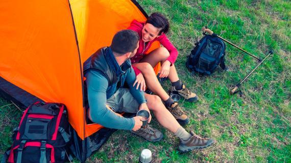 Las 5 herramientas imprescindibles para ir de acampada