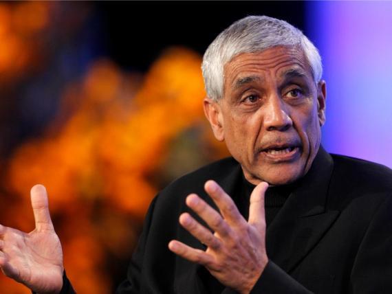 El multimillonario inversor en capital riesgo Vinod Khosla
