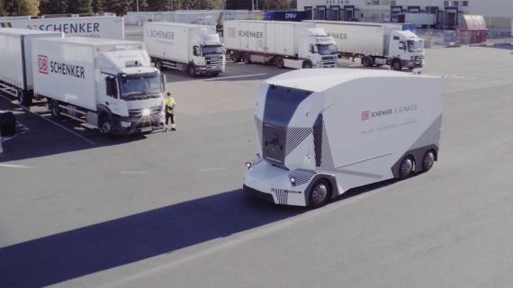 Camión autónomo en pruebas de DB Schenker