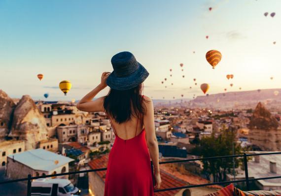Globos de la Capadocia, viajes