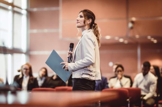 hablar publico