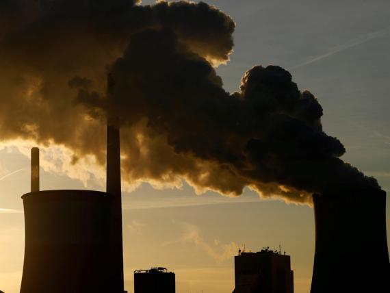 Una planta de la compañía eléctrica Uniper en Frankfurt (Alemania) que funciona con carbón