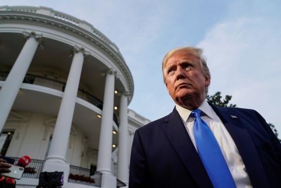 El presidente de EE.UU. Donald Trump