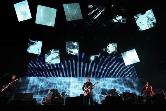 Radiohead en el festival Coachella en 2016