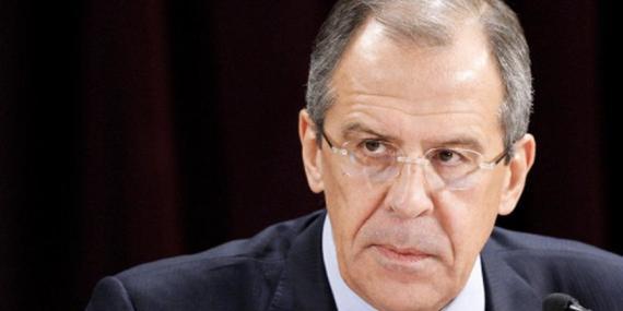 Sergey Lavrov, Ministro ruso de Asuntos Exteriores.