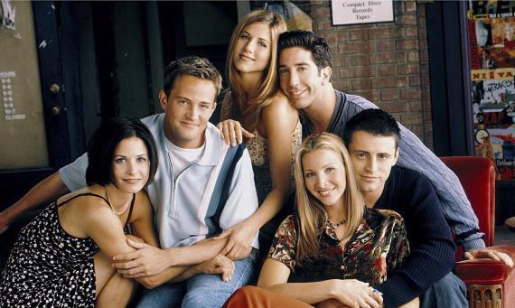 """""""Friends"""" dominó los 90"""