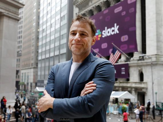 Stewart Butterfield, CEO de Slack.