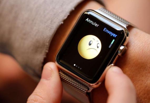 Smiley en el Apple Watch