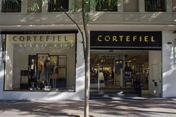 La tienda de Cortefiel en la calle madrileña de Goya