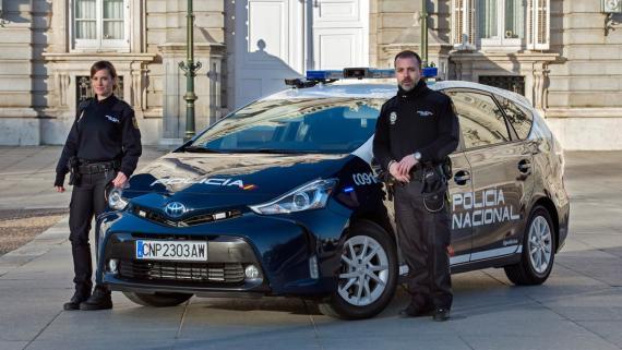 Toyota Prius Policia Nacional