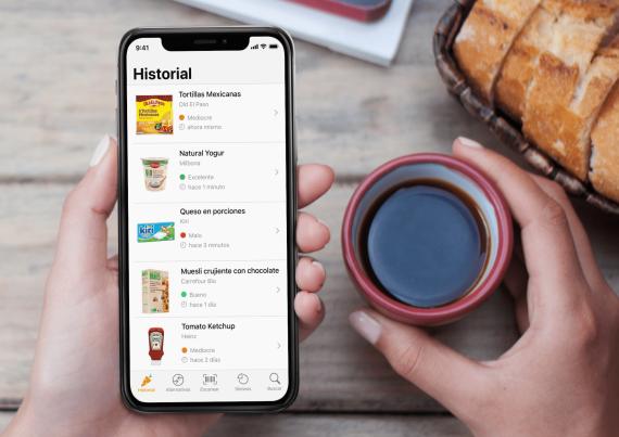 Yuka app para leer etiquetas de productos