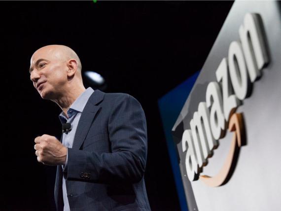 CEO de Amazon, Jeff Bezos.