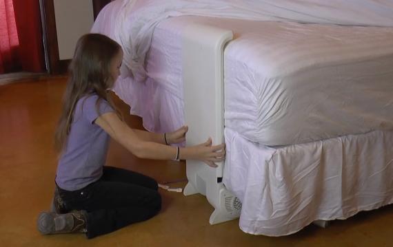 bFan, el ventilador para refrescar la cama en las noches de verano