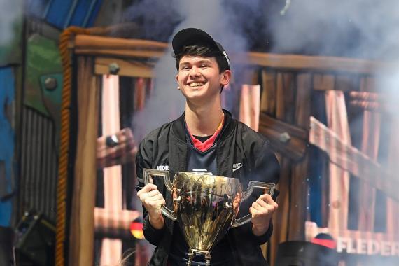 Bugha gana el Mundial de Fortnite