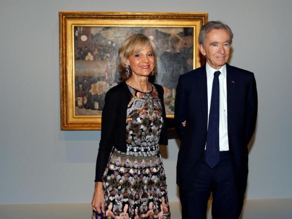 El multimillonario, Bernard Arnault, es un coleccionista de arte moderno y contemporáneo.
