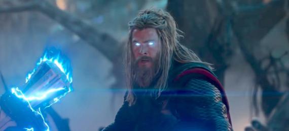 """Chris Hemsworth en su papel de Thor, en la película """"Avengers: Endgame""""."""