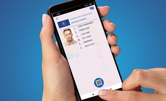 La DGT permitirá usar el smartphone como carné de conducir