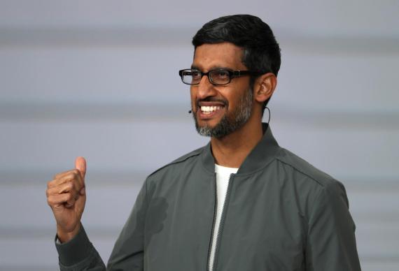 El CEO de Google Sundar Pichai.