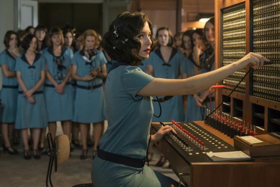 Una imagen de las chicas del cable de Netlfix
