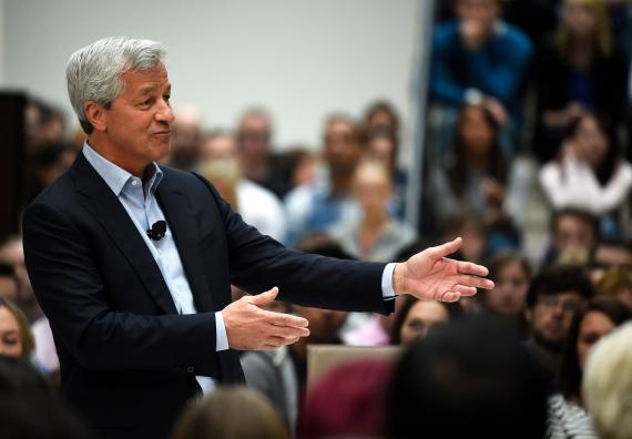 Jamie Dimon, CEO de JPMorgan