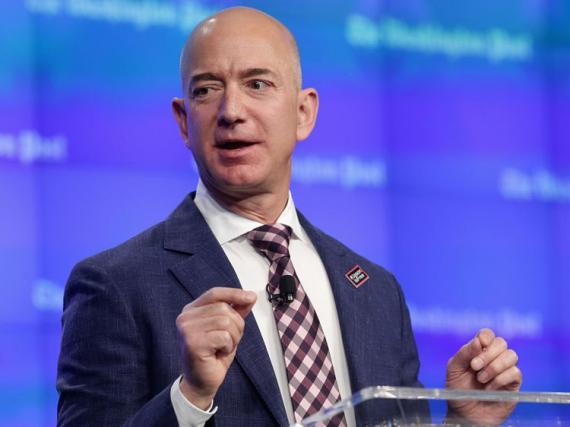 El CEO de Amazon, Jezz Bezos.