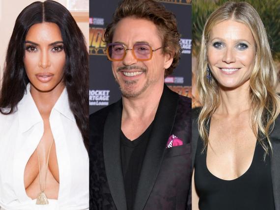 Kim Kardashian, Robert Downey Jr. y Gwyneth Paltrow intentaron lanzar carreras musicales.
