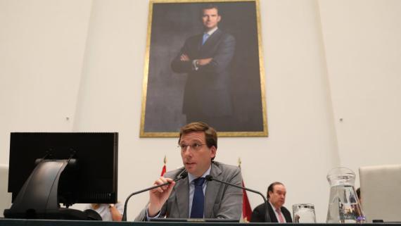 Martínez-Almeida, tras aplicar la moratoria de multas para Madrid Central.