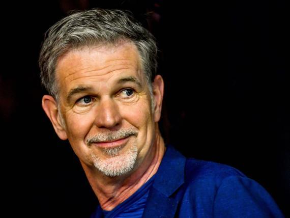 El responsable de Netflix, Reed Hastings.
