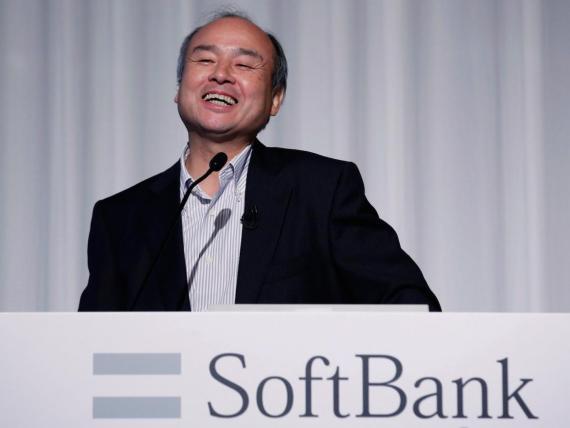 El presidente y CEO del Grupo SoftBank Masayoshi Son