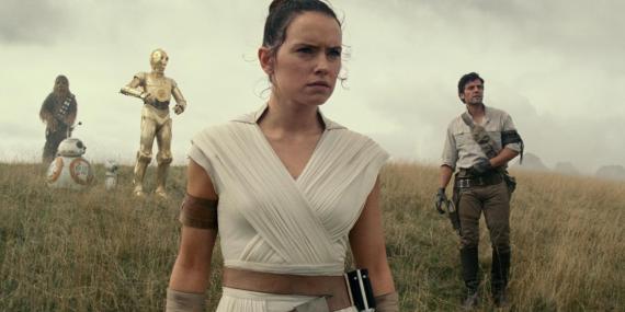 """Star Wars: The Rise of Skywalker"" opens in December 2019."
