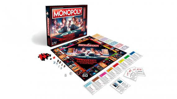 Stranger Things cuenta con su propia edición de Monopoly.
