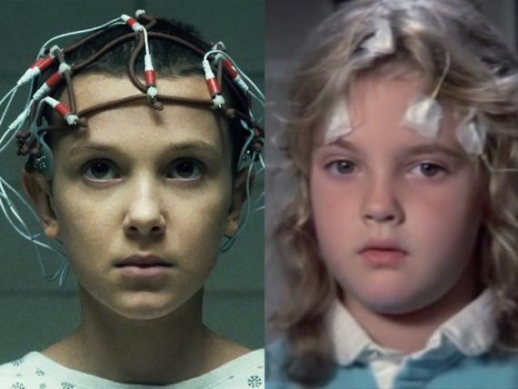 Stranger Things homenajea la película de 1984 Ojos de fuego.