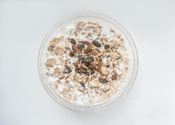 Avena, desayuno con cereales