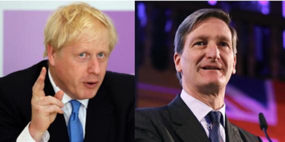 Boris Johnson y Dominic Grieve