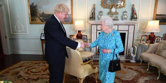 Boris Johnson will reportedly ask the Queen to shut down Parliament until mid-October in order to force through a no-deal Brexit