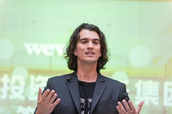 El CEO de WeWork, Adam Neumann