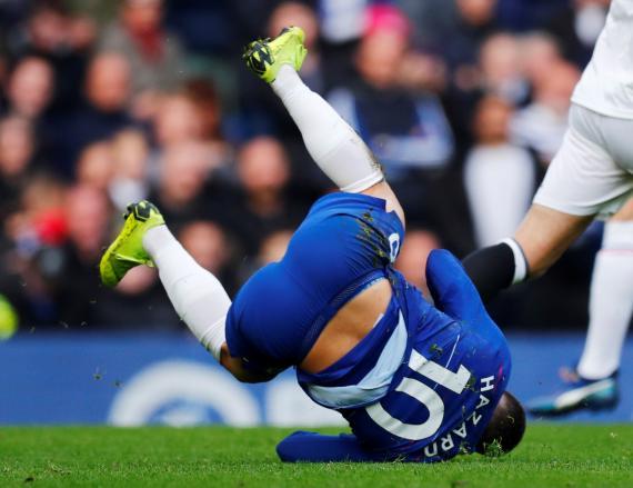 Eden Hazard, exfutbolista del Chelsea y actual jugador del Real Madrid