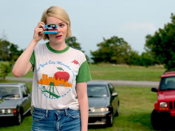 """Emma Stone como Annie en la serie de ciencia ficción de Netflix """"Maniac""""."""