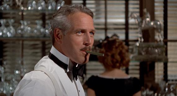 Paul Newman en la película 'El Golpe'
