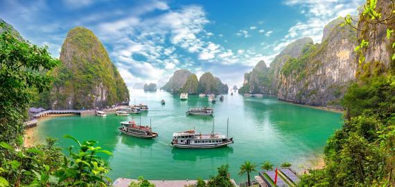 halong barco Ir en crucero es mejor forma de visitar Asia