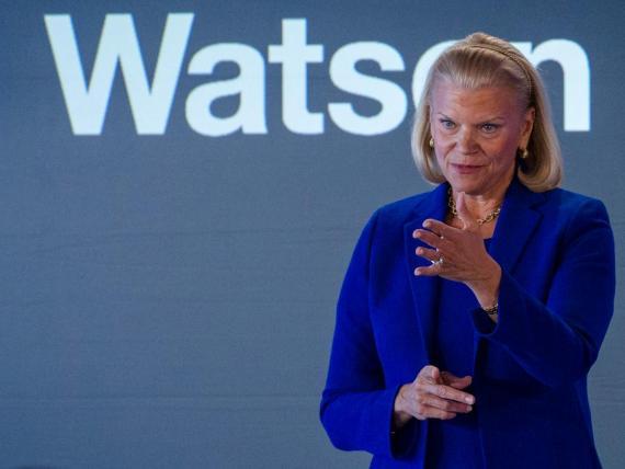 "IBM CEO Virginia ""Ginni"" Rometty."