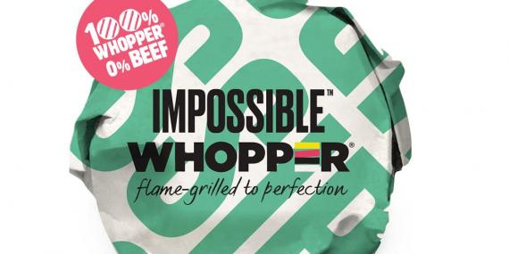 The Impossible Whopper.