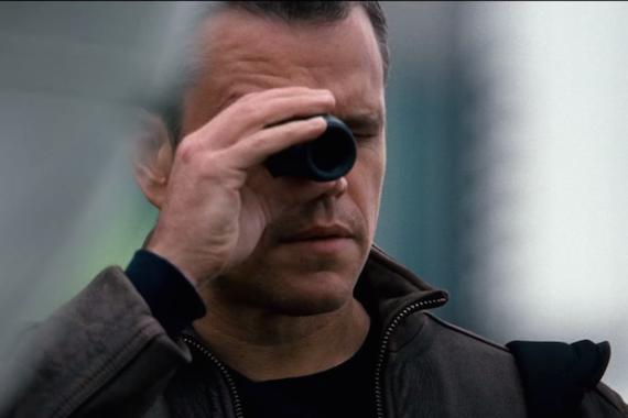 Matt Damon en una escena de Jason Bourne