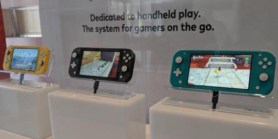 Nintendo Switch Lite solo se podrá jugar en modo portátil.