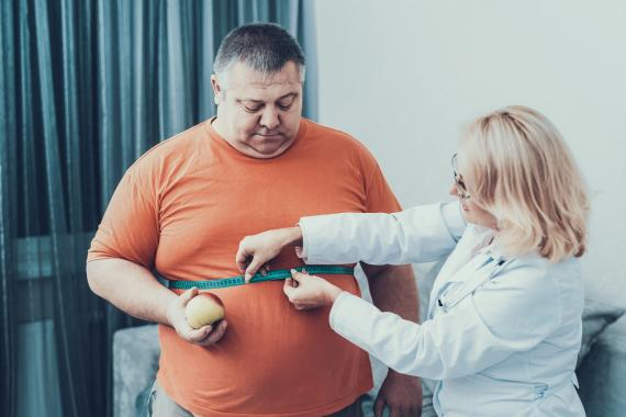 Obesidad motivo que puede causar cansancio y la fatiga crónico