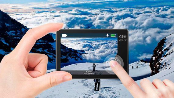 Ofertas día Amazon: cámara deportiva compatible con GoPro por 48 euros